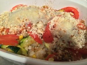 casserole zucchini and tomato