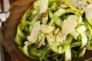 Shaved Asparagus Salad from CHOW