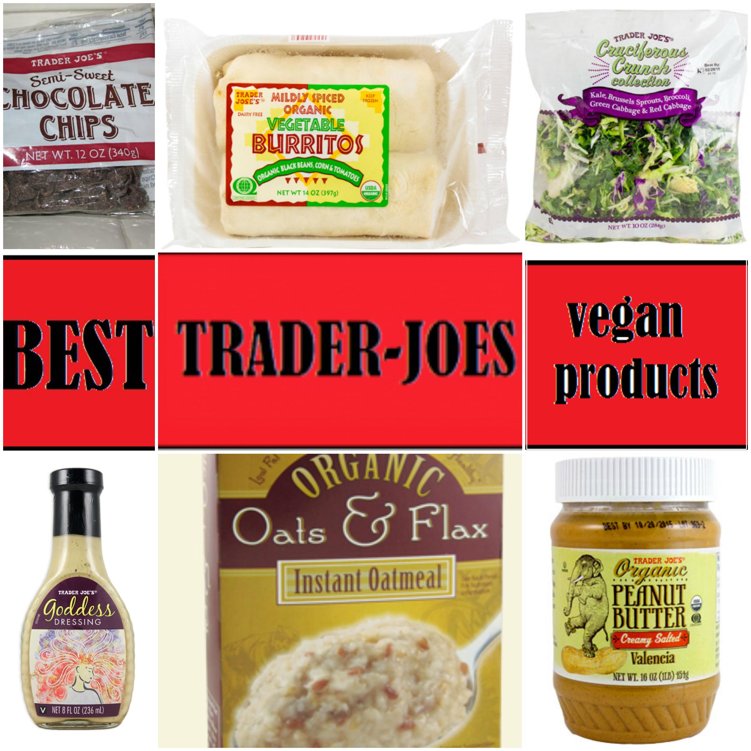 Vegan options at trader joe's